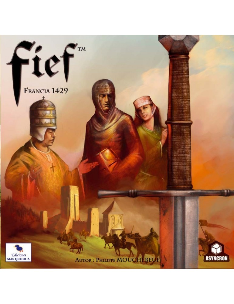 Fief: Francia 1429 Segunda Edición (Castellano)