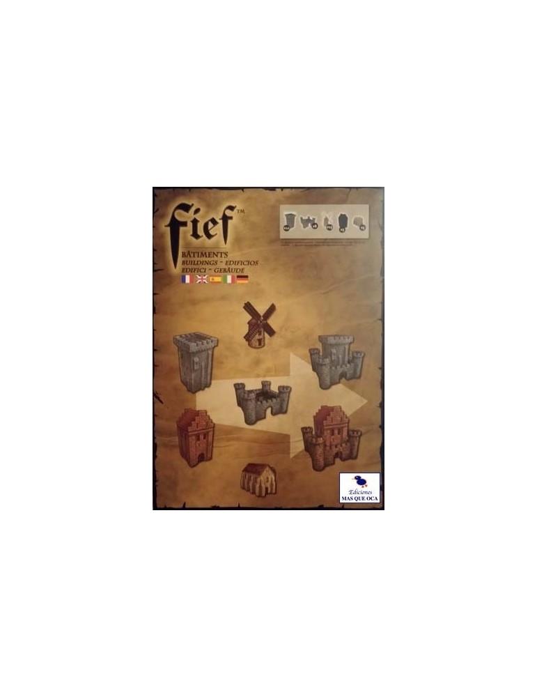 Fief: Francia 1429 - Expansiones Miniaturas de Edificios (Castellano)