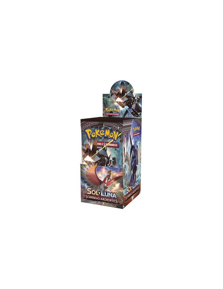 Pokémon Sol y Luna: Sombras Ardientes - Sobre de 10 cartas