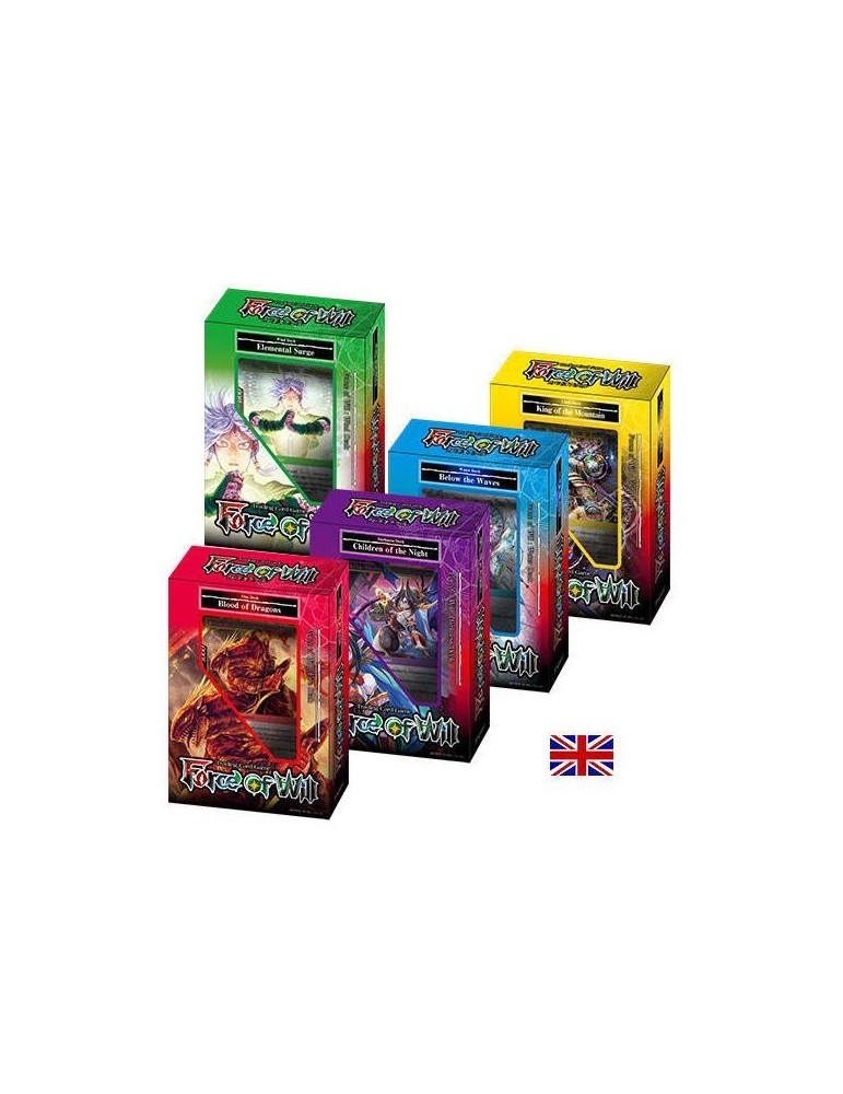 Force of Will: Kit Mazos de Inicio Reiya (Inglés)