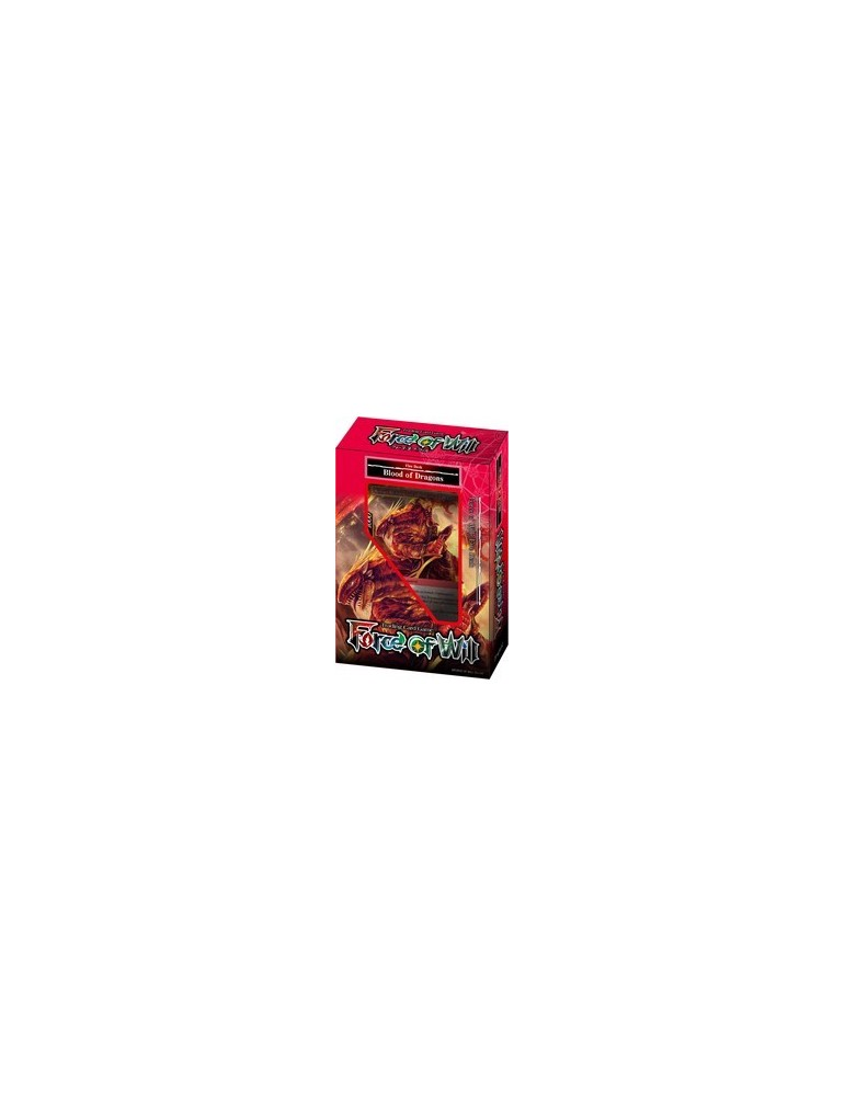 Force of Will: Fire Starter Deck - Blood of Dragons + Promo Melfee (Inglés)