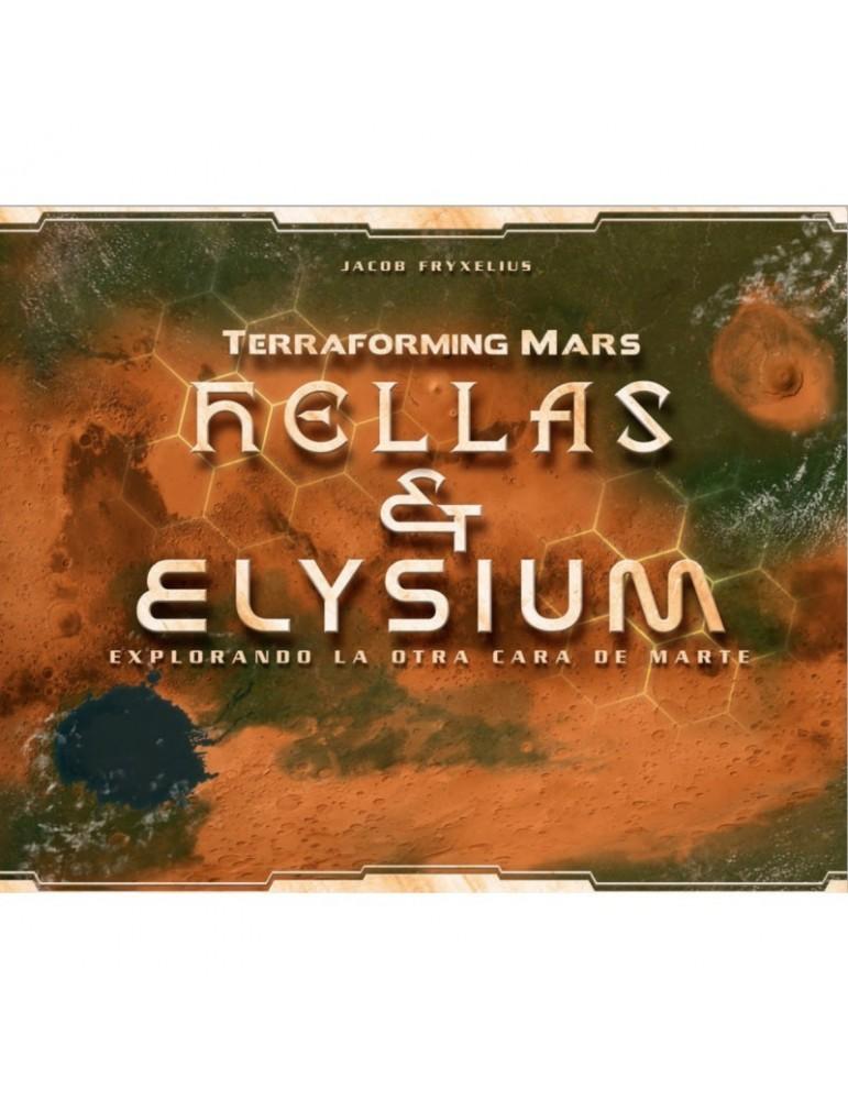 Terraforming Mars: Hellas y Elysium - Explorando la otra cara de Marte (Castellano)