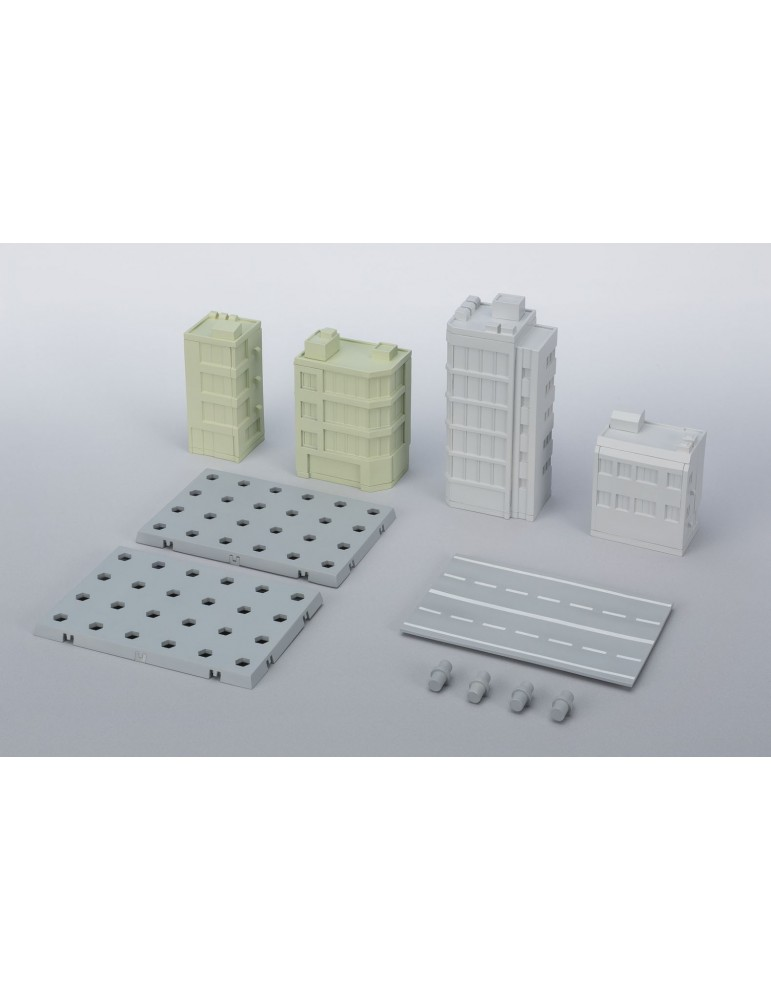 Set edificios Act Building Tamashii Option
