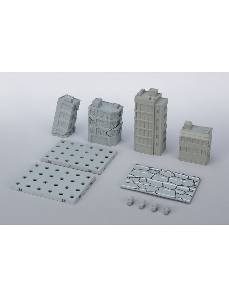 Set edificios dañados Act Building Tamashii Option