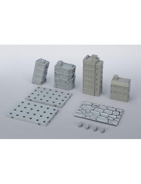 Set edificios dañados Act Building Tamashii Option