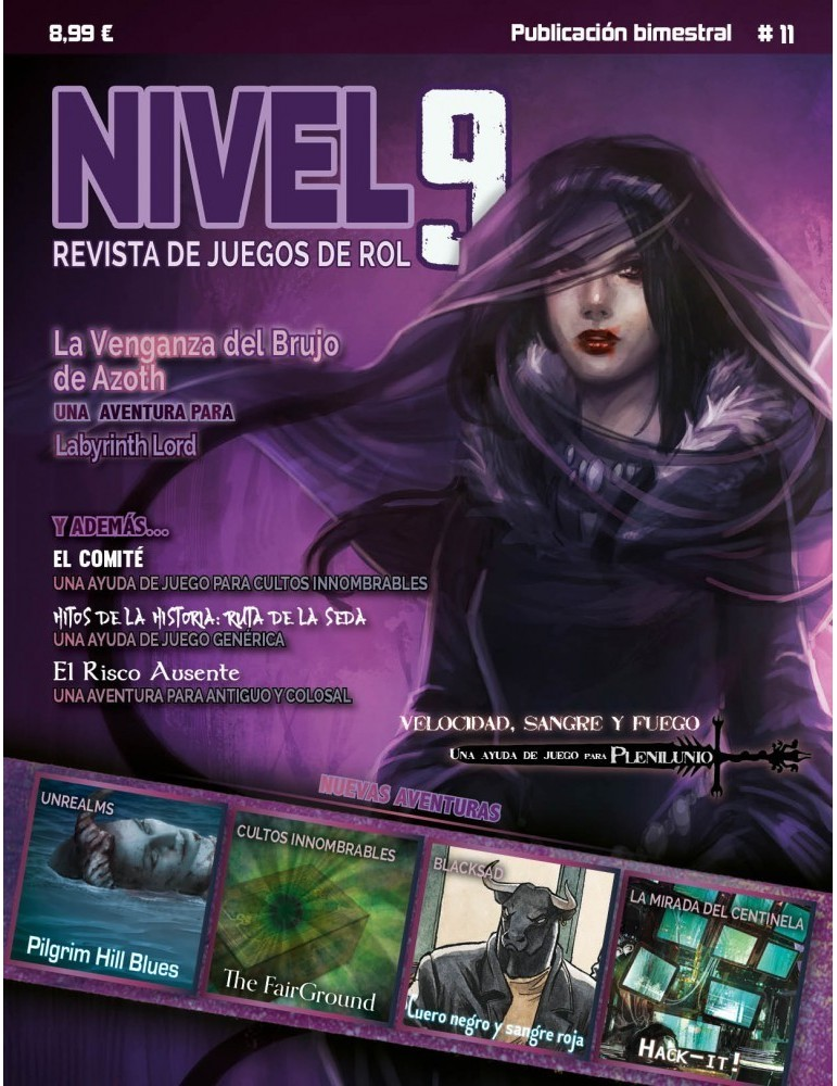 Nivel 9 (Núm. 11) + Copia digital