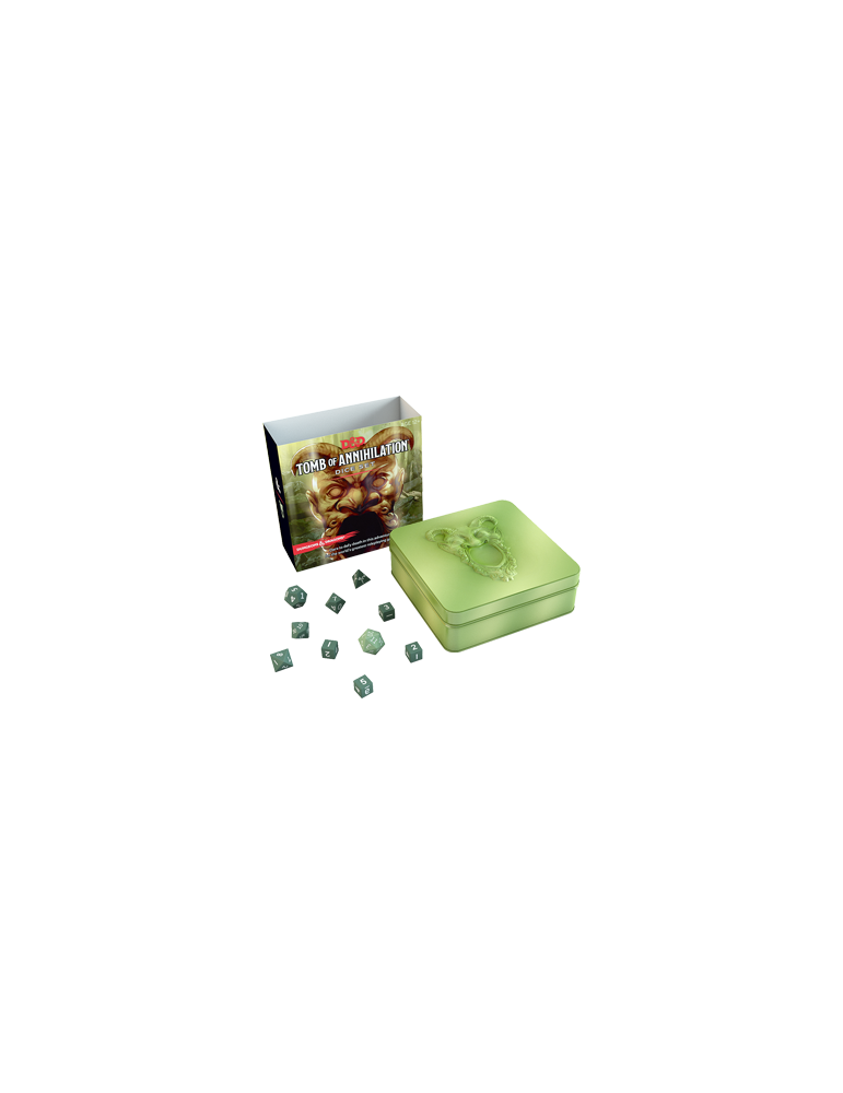 D&D: Tomb of Annihilation Dice Set