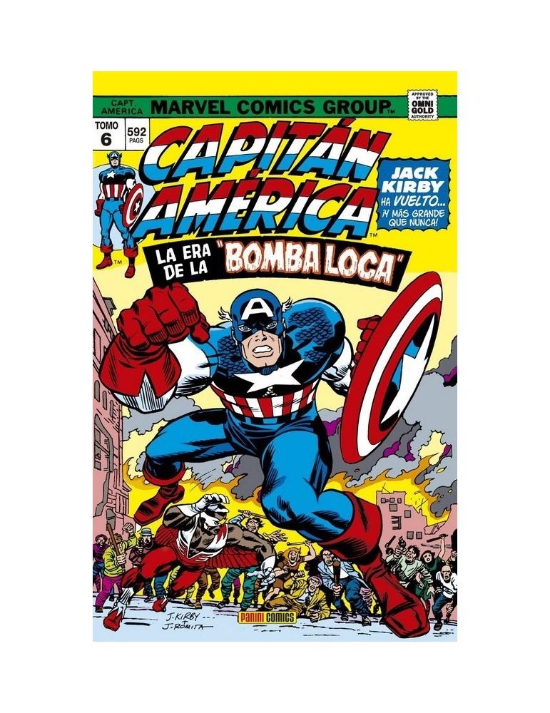 """Capitán América y El Halcón 6: La era de la """"Bomba Loca"""" (Marvel Gold)"""