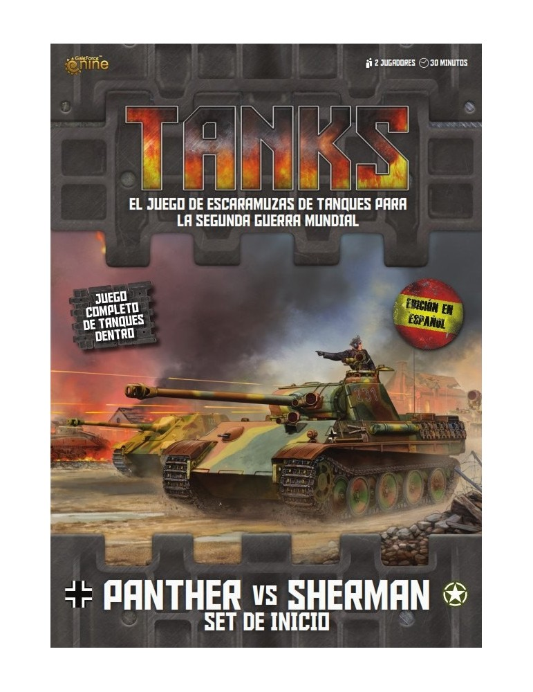 Tanks: Set de Inicio Panther vs Sherman