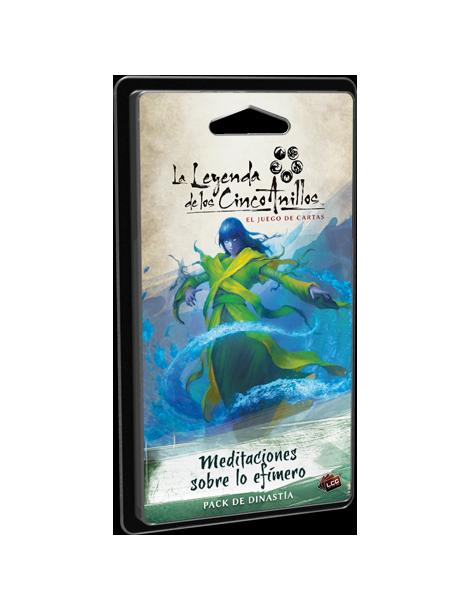 La Leyenda de los Cinco Anillos: el juego de cartas - Meditaciones sobre lo efímero