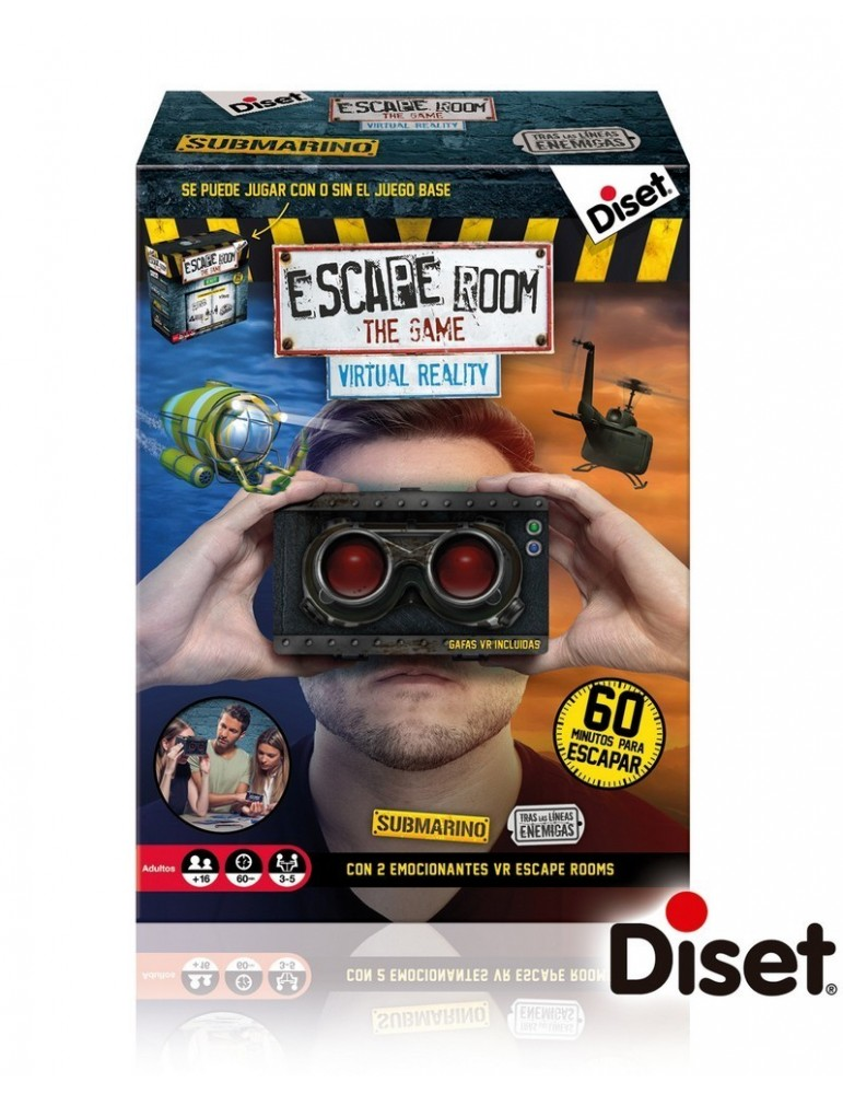Escape Room Virtual Reality (VR)