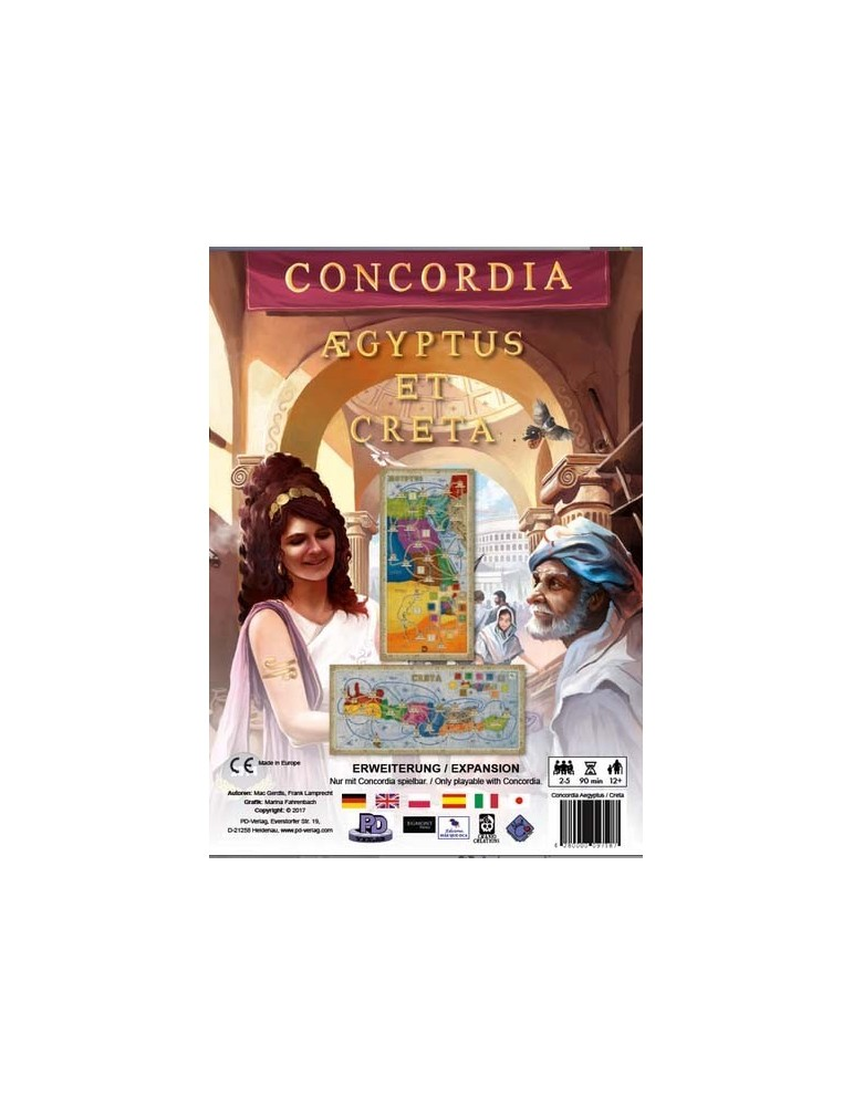 Concordia: Expansion Creta y Aegyptus