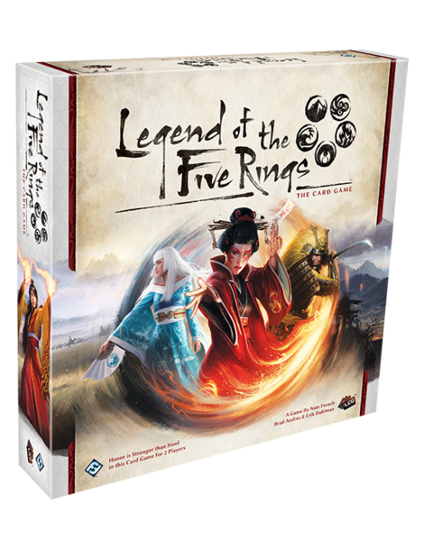 Legend of the Five Rings: The Card Game (Inglés)