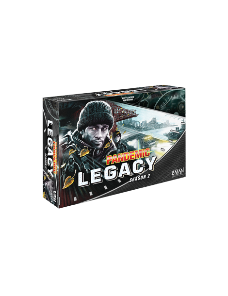 Pandemic Legacy: Season 2 - Black Edition (Inglés)