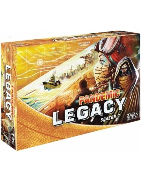 Pandemic Legacy: Season 2 - Yellow Edition (Inglés)