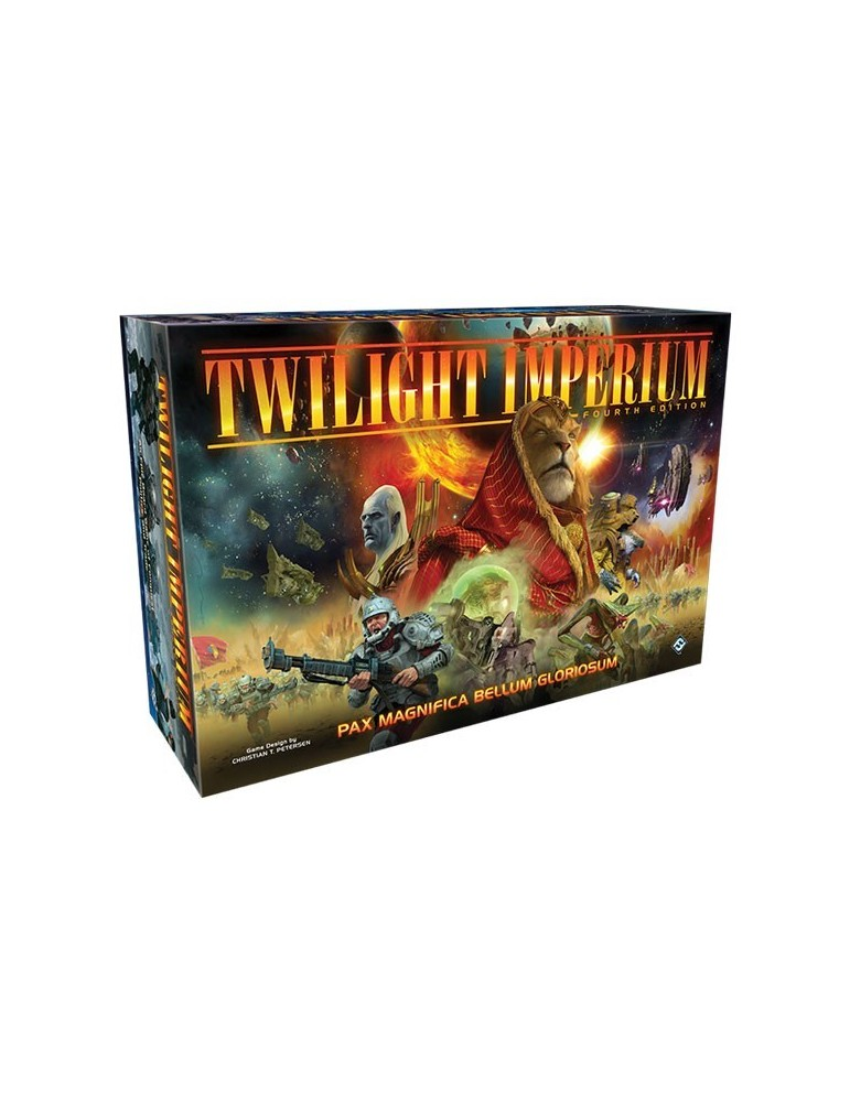 Twilight Imperium Fourth Edition (Inglés) + Promo Hardcover + Artprints