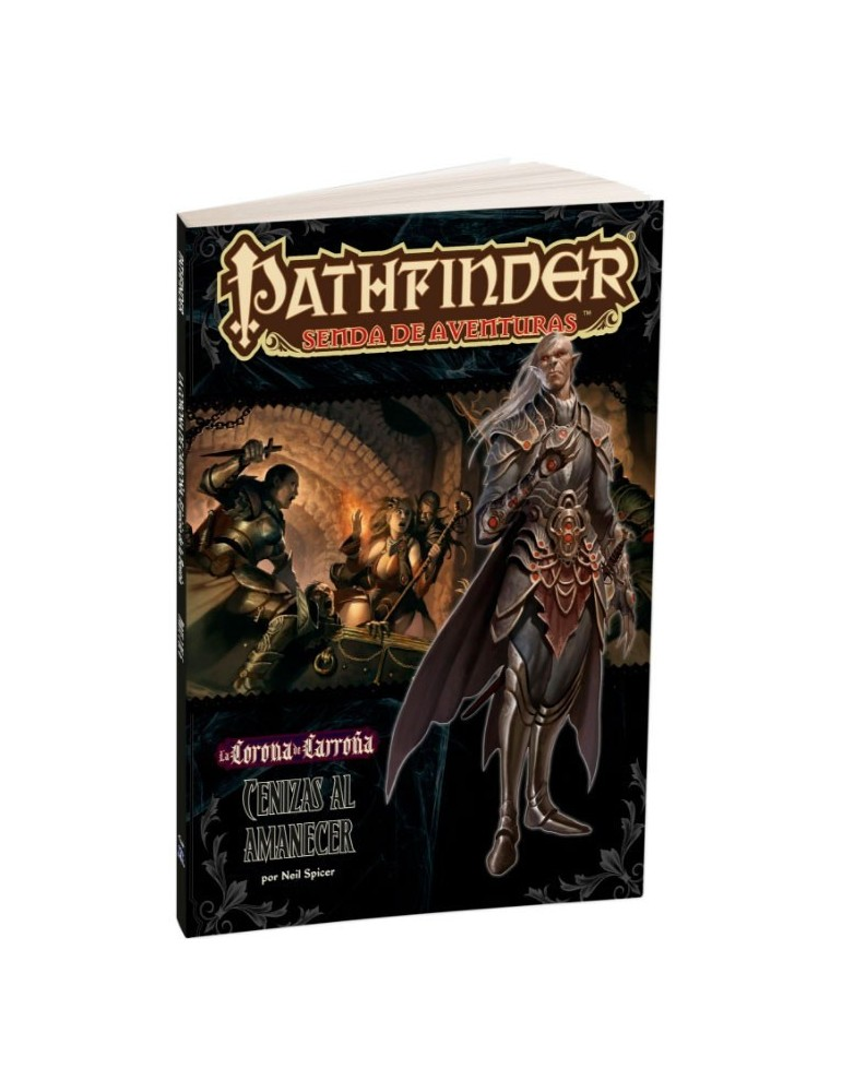 Pathfinder: La Corona de Carroña 5 - Cenizas al amanecer