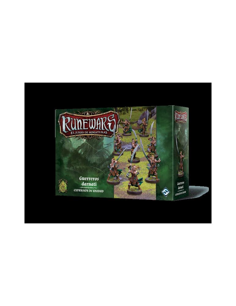Runewars: El juego de miniaturas - Elfos Latari: Guerreros darnati