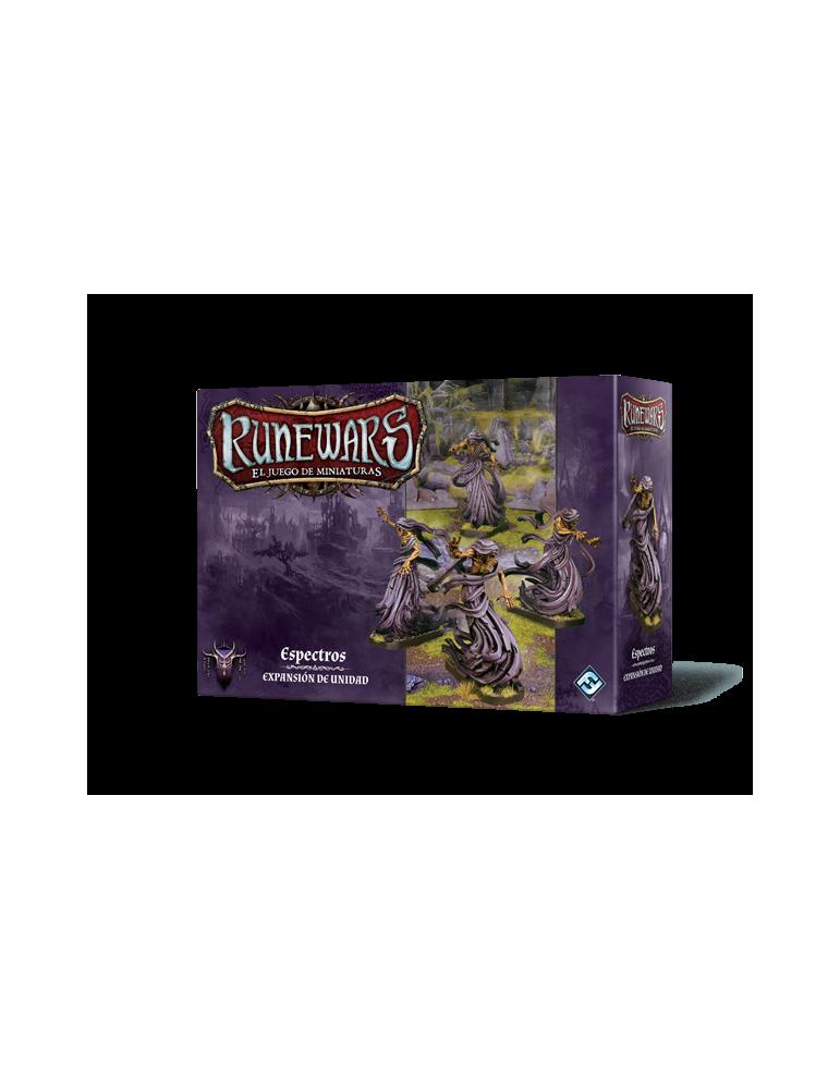 Runewars: El juego de miniaturas - Waiqar el Inmortal: Espectros