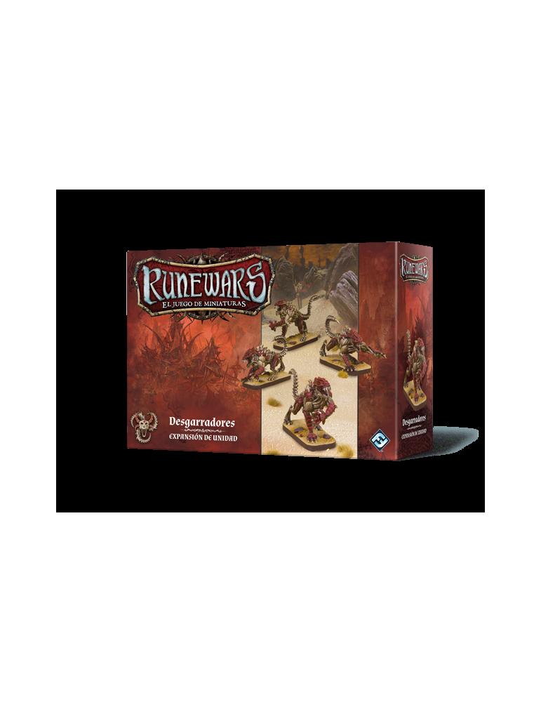 Runewars: El juego de miniaturas - Los Uthuk Y'llan: Desgarradores