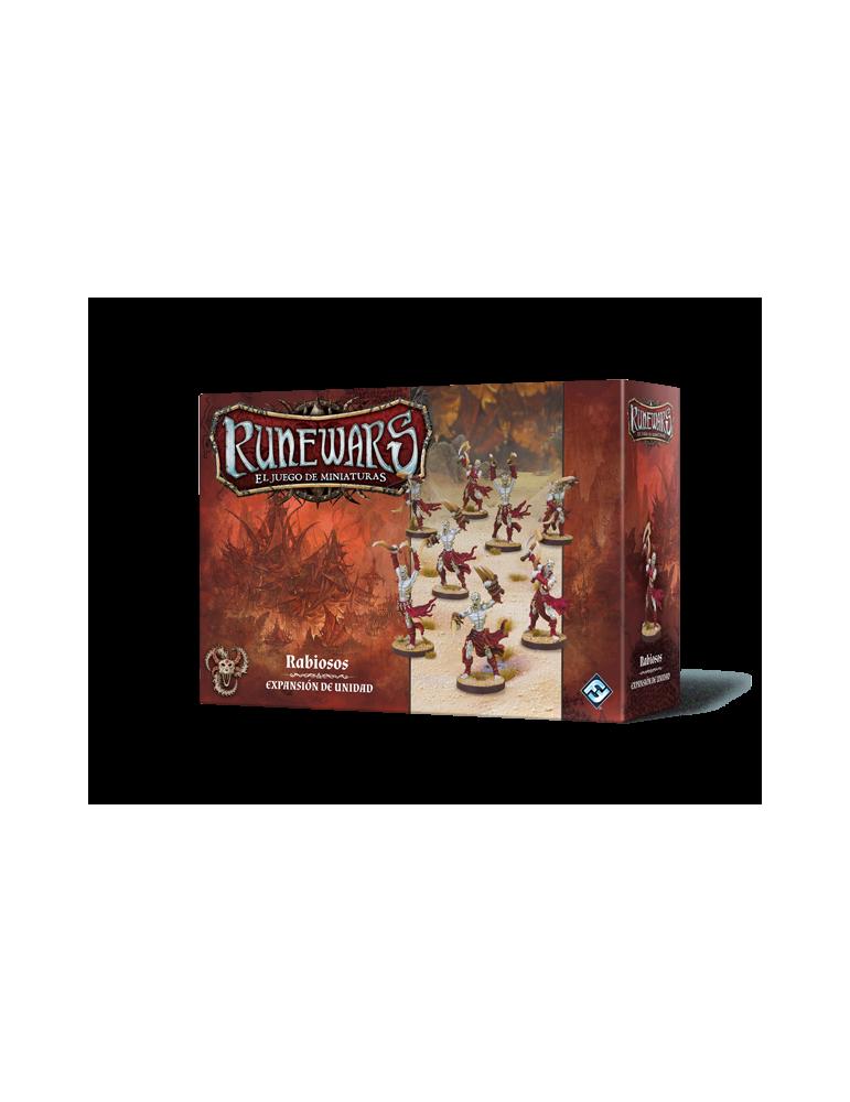 Runewars: El juego de miniaturas - Los Uthuk Y'llan: Rabiosos
