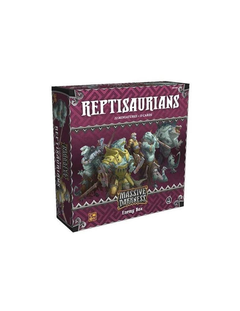 Massive Darkness: Enemy Box - Reptisaurians (Inglés)
