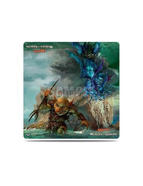 "MTG Duel Deck Merfolk vs Gobin Playmat (24""x24"")"