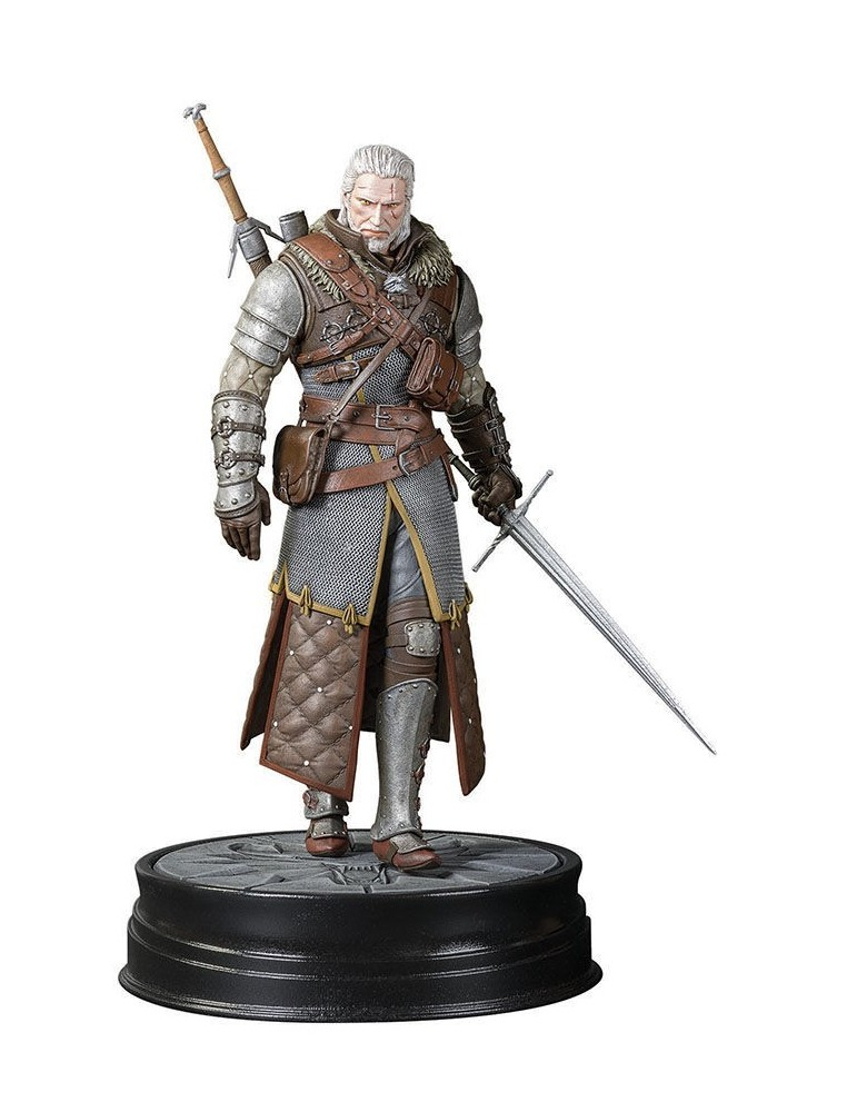 Figura The Witcher 3: Geralt Gran Maestro Armadura Osuna 20 cm