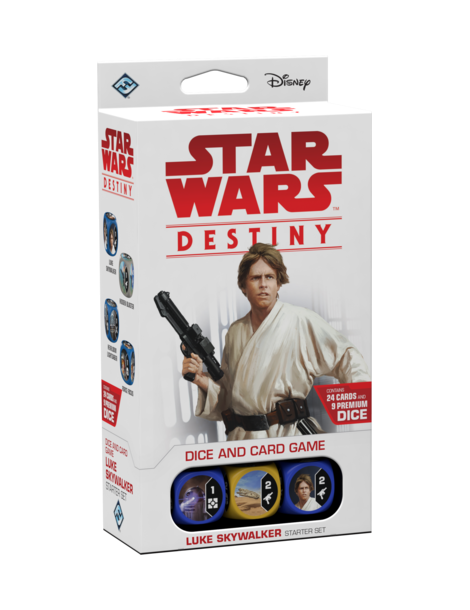 Star Wars: Destiny - Luke Skywalker Starter Set (Inglés)