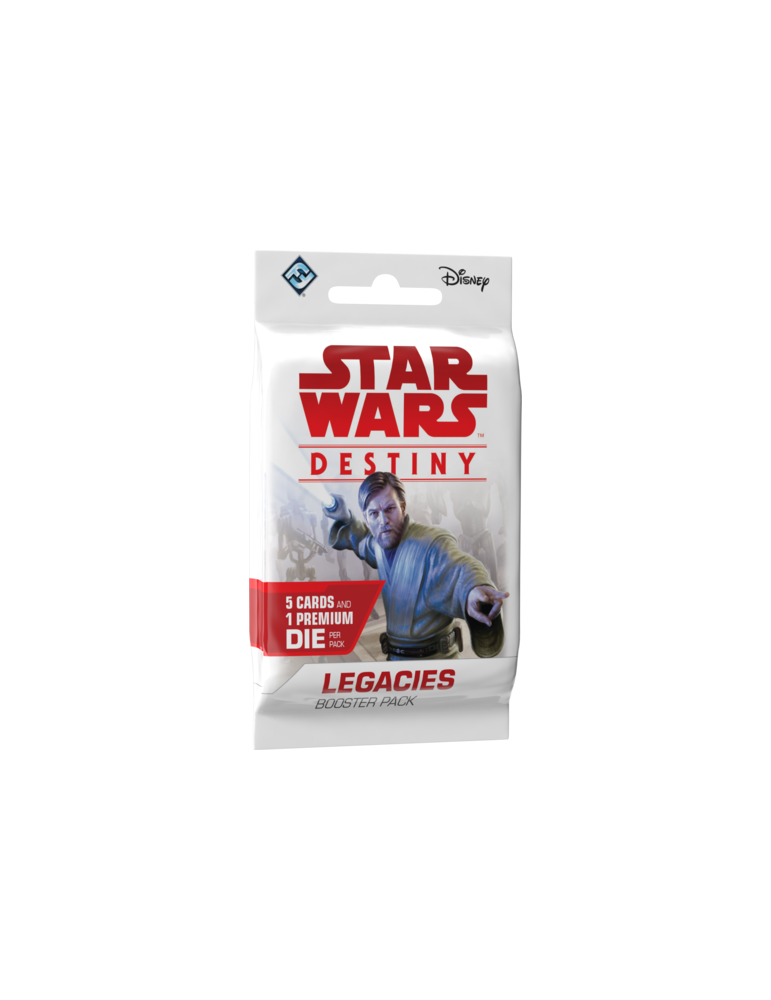 Star Wars: Destiny - Legacies Booster (Inglés)