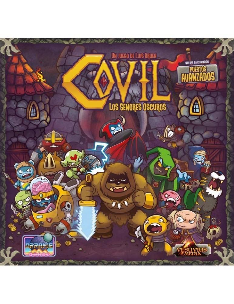 Covil: Los Señores Oscuros (Edición Kickstarter) + Pegatinas para meeples