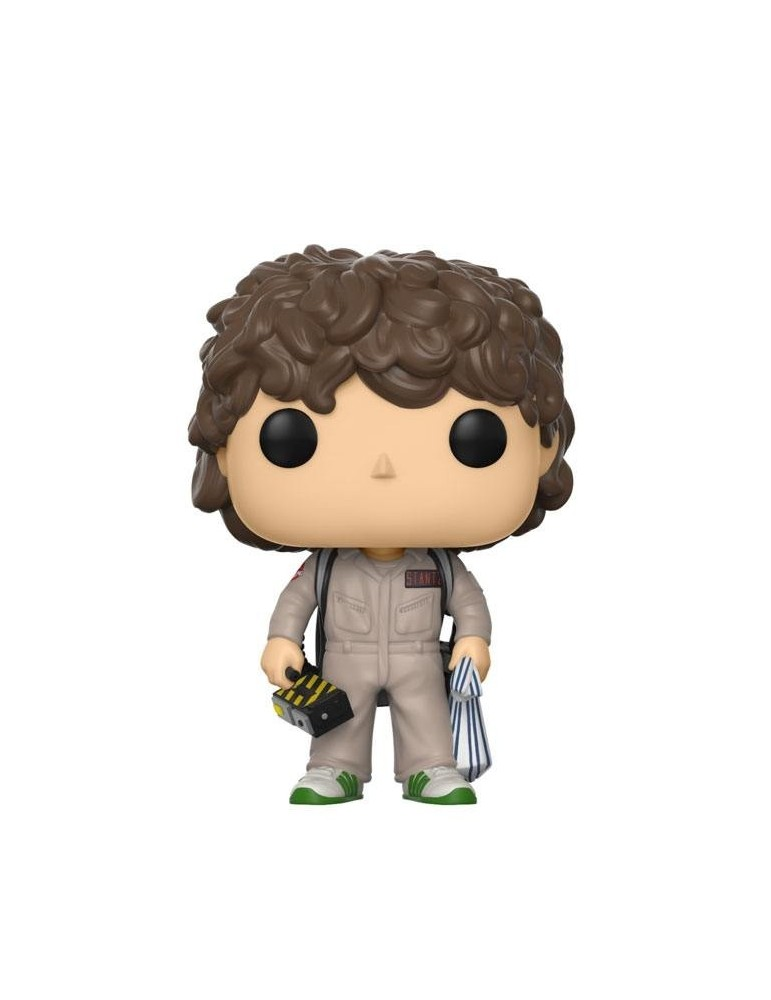 Figura POP Stranger Things: Dustin Ghostbuster 9 cm
