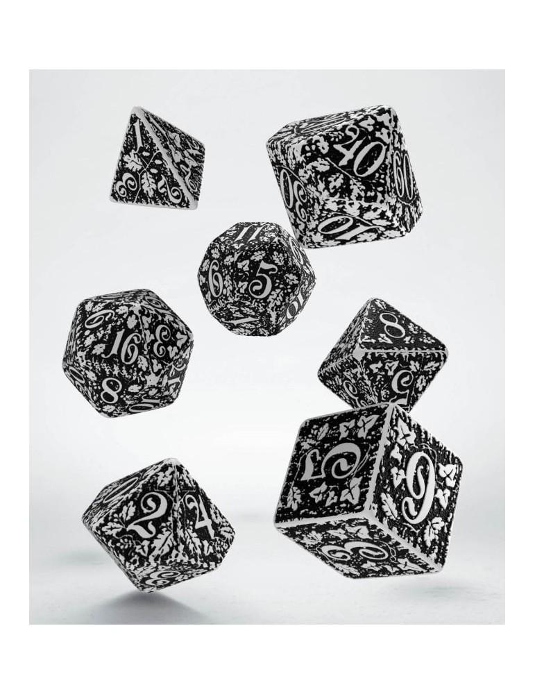 Set de dados Forest 3D blanco y negro (7)