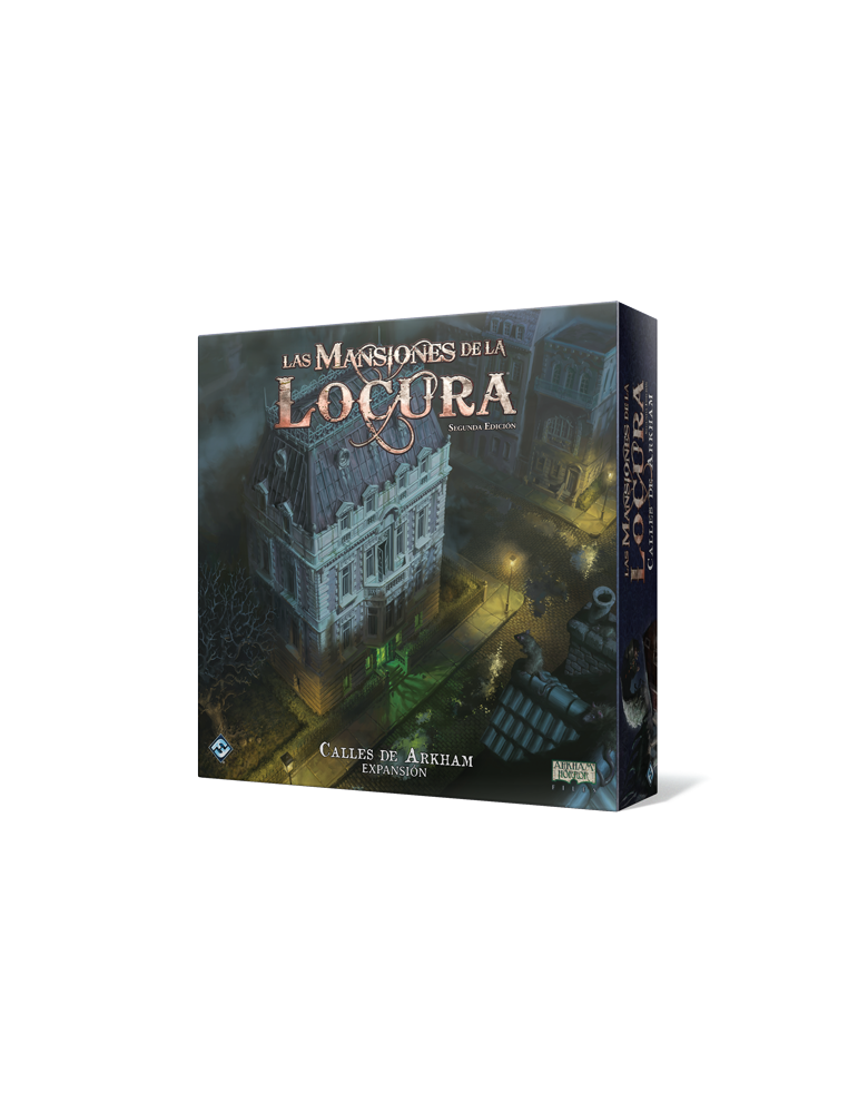 Las Mansiones de la Locura (Segunda Edición): Calles de Arkham