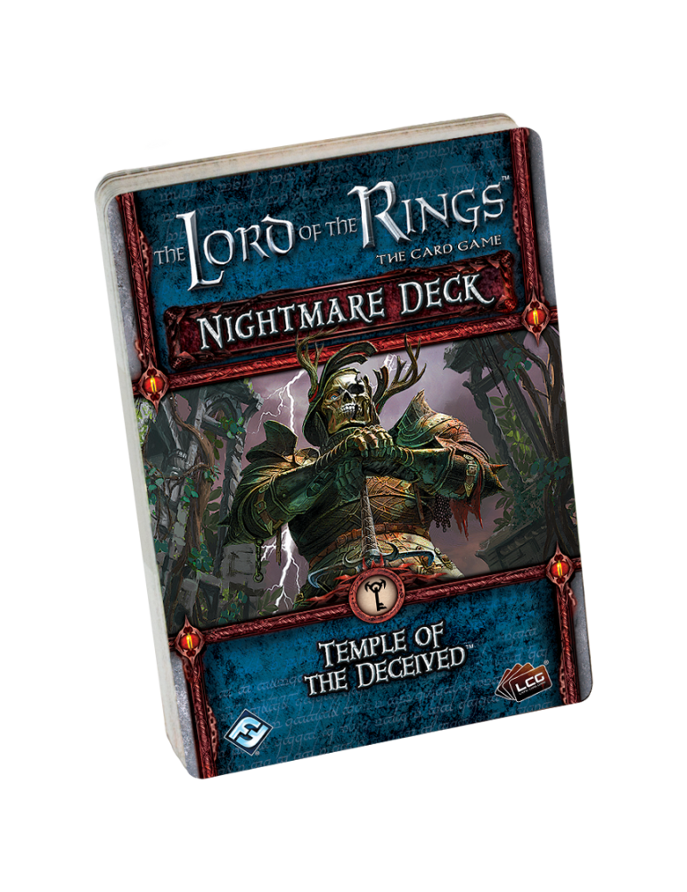 The Lord of the Rings: The Card Game - Temple of the Deceived Nightmare Deck (Inglés)