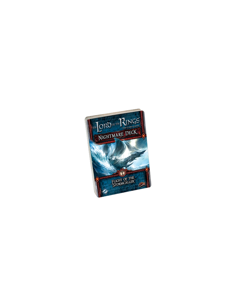 The Lord of the Rings: The Card Game - Flight of the Stormcaller Nightmare Deck (Inglés)