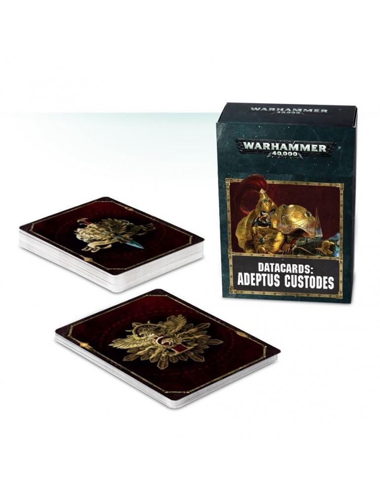 Warhammer 40.000 Datacards: Adeptus Custodes