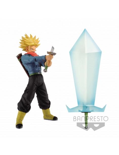 Set 2 Figuras Dragon Ball Super Final Hope Slash: Super Saiyan 2 Trunks & Blade Of Hope 24 cm