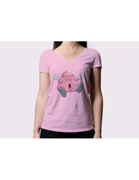 Camiseta Dr. Slump Rosa Chica: Caca Arale