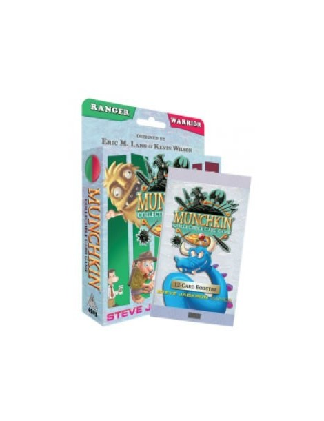 Munchkin Collectible Card Game: Ranger & Warrior Starter