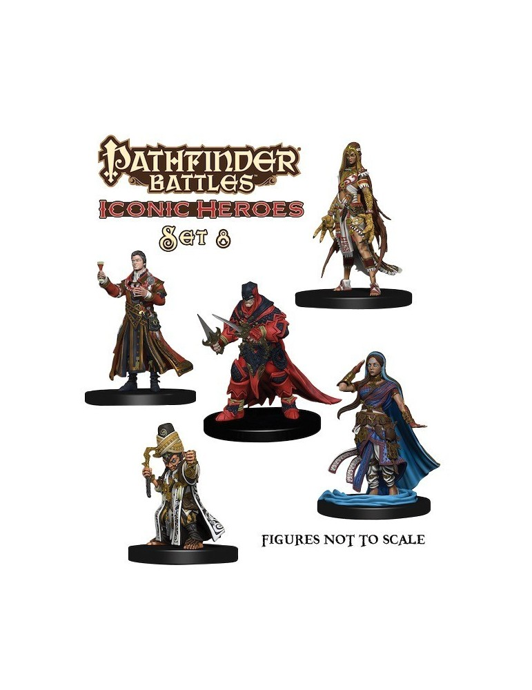 Pathfinder Battles: Iconic Heroes Set 8