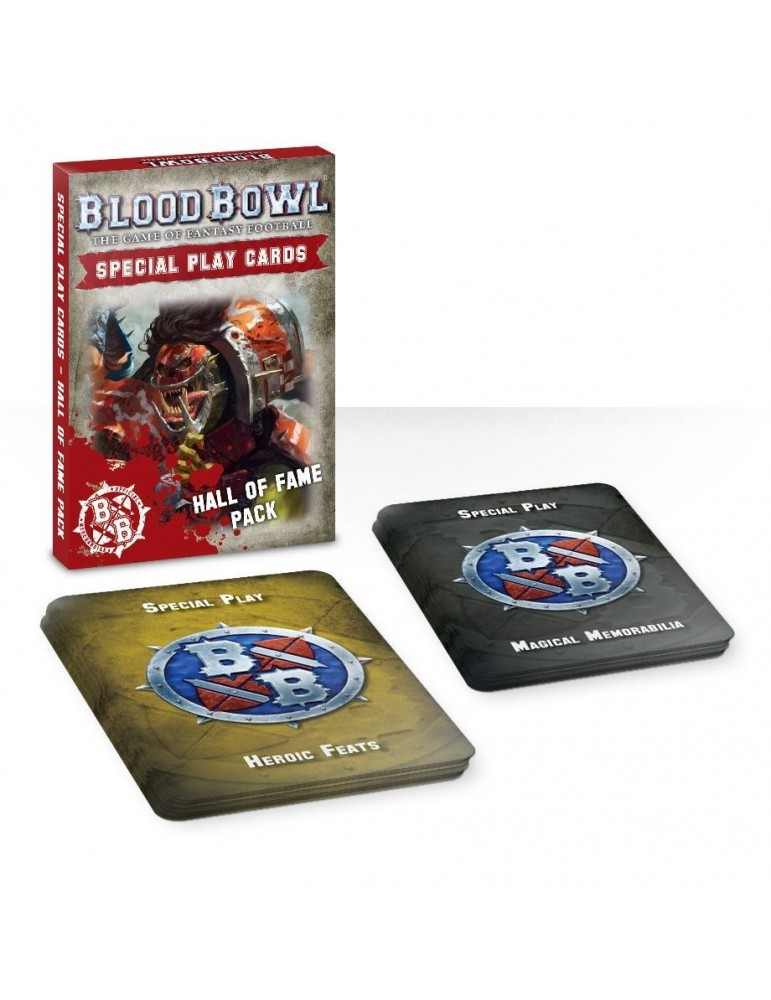 Blood Bowl Special Play Cards: Hall of Fame Pack (Inglés)