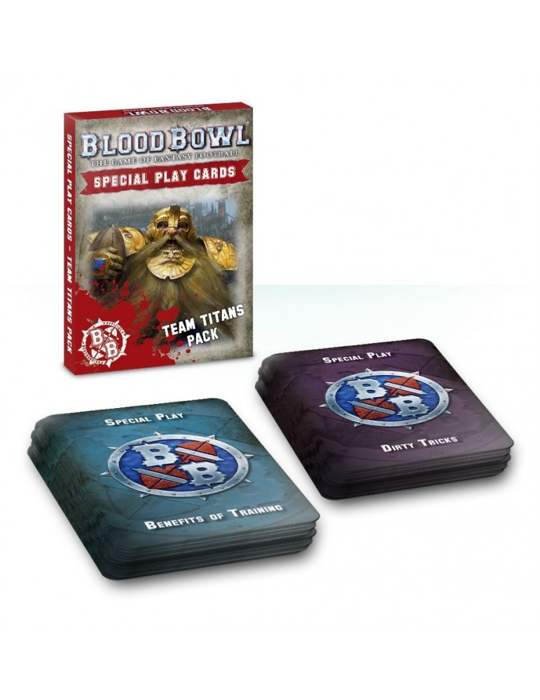 Blood Bowl Team Titans Special Play Card Pack (Inglés)