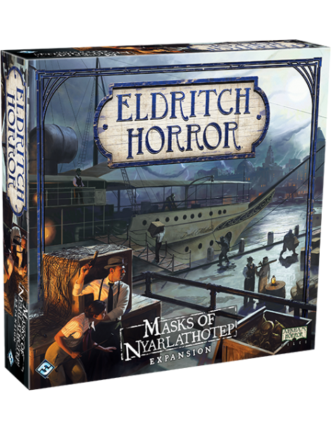 Eldritch Horror: Masks of Nyarlathotep (Inglés)