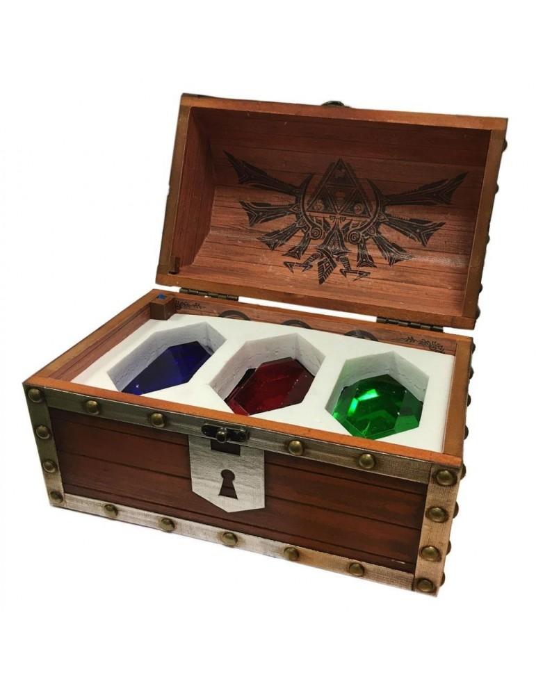 Pack de 3 Pisapapeles Legend of Zelda Rupee Chest
