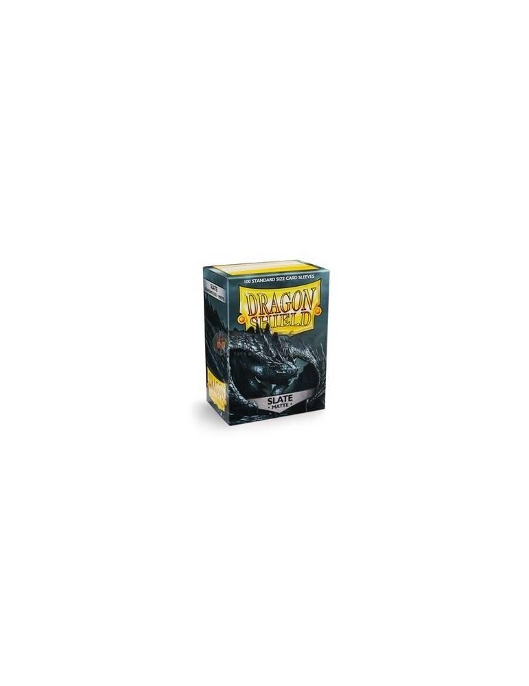 Fundas Dragon Shield Matte Slate (100 unid.)