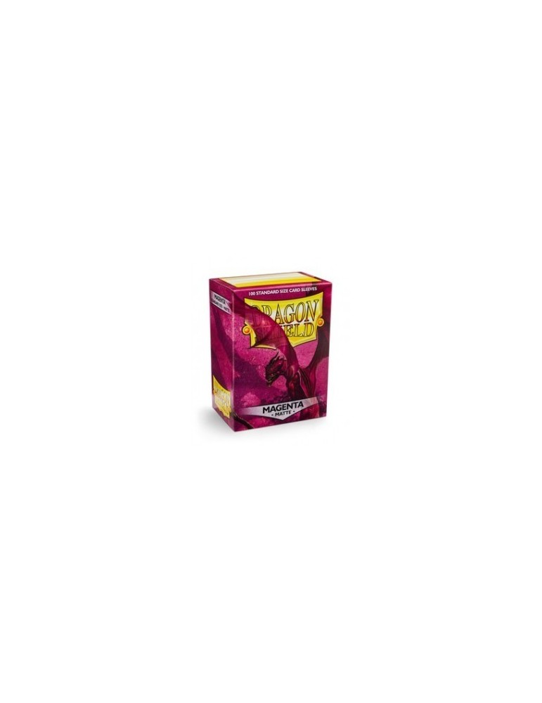 Fundas Dragon Shield Matte Magenta (100 unid.)