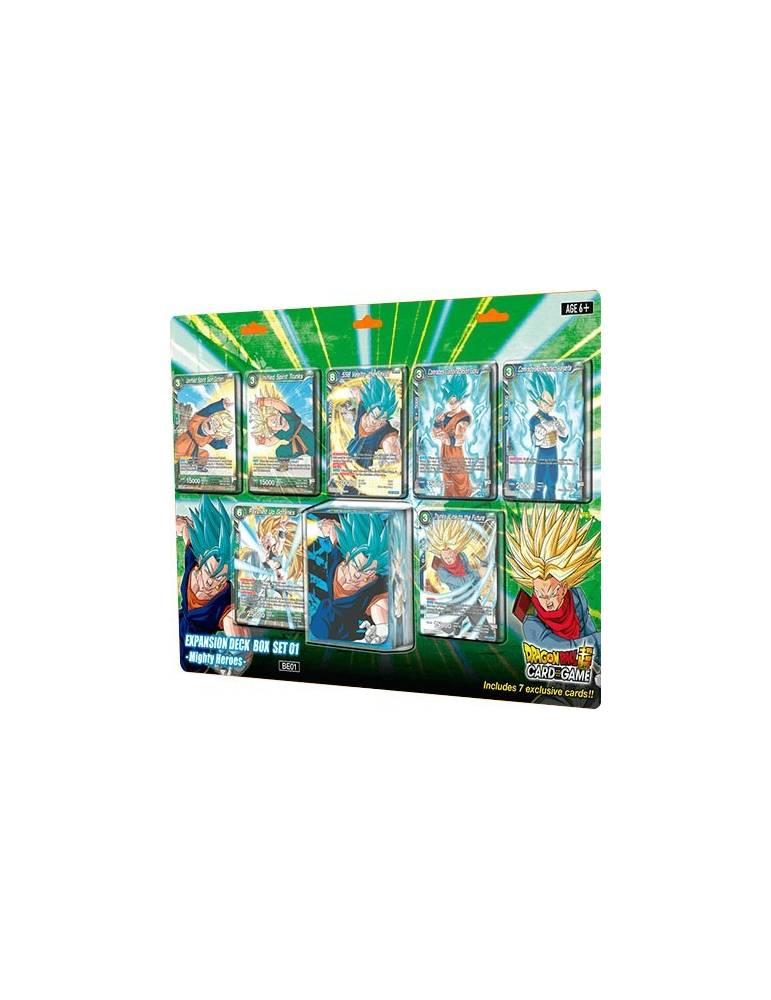 Dragon Ball Super Card Game: Expansion Deck Box Set 01 - Mighty Heroes