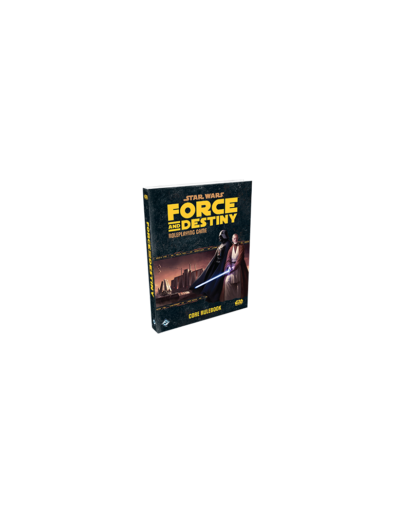 Star Wars: Force and Destiny Core Rulebook (Inglés)