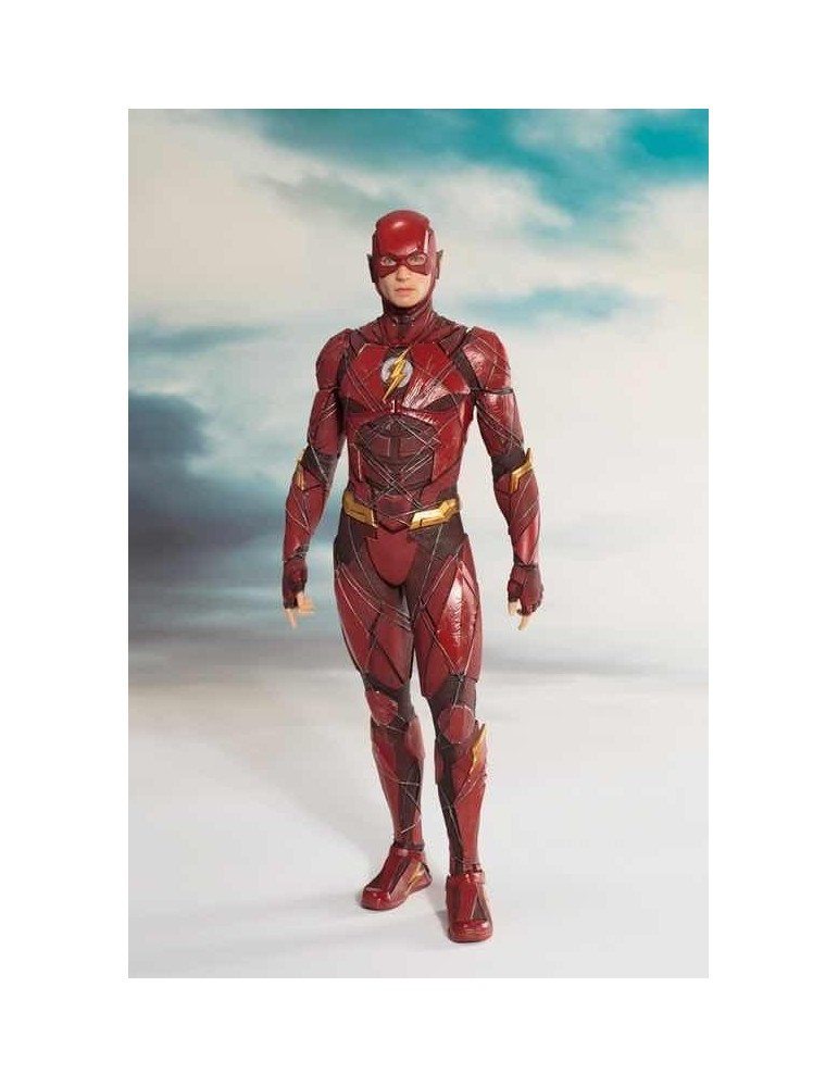 Estatua Justice League Movie Art Fx+ The Flash 18,5 cm
